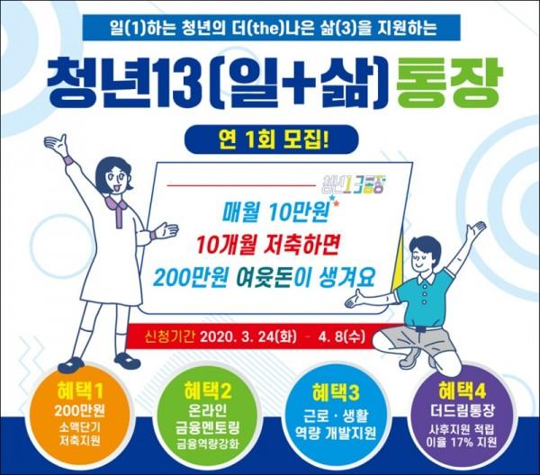 청년13(일+삶)통장지원사업 포스터.jpg