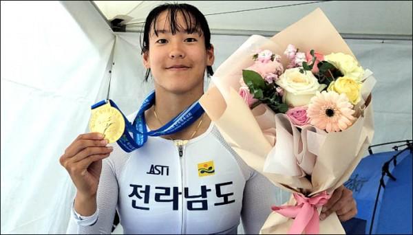 3관왕 김채연 자전거.jpg