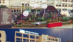 5.18 민주광장에 '詩가 있는 꽃벽정원' 조성