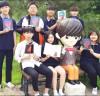 유노윤호 다국적 팬클럽, 모교 광일고에 새 음반 기증