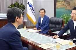 김영록 전남지사, 코레일에 전라선 KTX 증편 요청