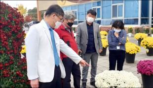 """호남권역재활병원, """"화순 국화향기 솔~ 솔"""""""