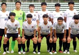 영광FC U18, 창단 첫 전국규모 대회 준우승