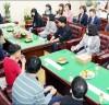 장휘국 광주교육감, 관내 5개 특수학교 학생 초청 간담회