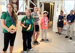 세계수영대회 참가 외국인들 5.18민주화운동에 큰 관심