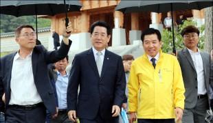 김영록 전남지사ㆍ구충곤 화순군수, 中 유적 주자묘 방문