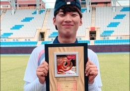 조선대 이진용, 아시안컵 양궁 男단체전 우승 견인